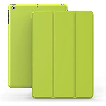 KHOMO Ultra Slim Dual Case with Stand and Magnetic Smart Cover for Apple iPad Mini/Mini with Retina Display - Green