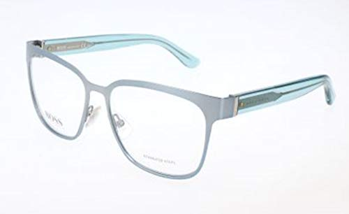 BOSS Hugo Damen Hugo Orange Brille Brillengestelle, Silber, 55