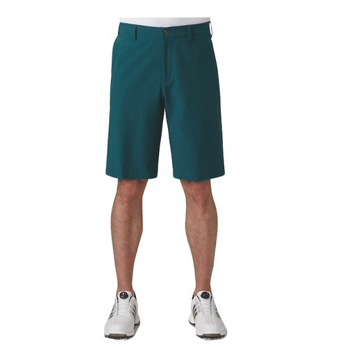 Adidas Golf 2017 Ultimate Classic Woven Shorts Performance Mens Golf Funky Shorts Rich Green 38