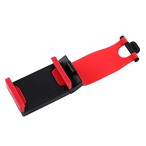 Preisvergleich Produktbild ASHATA Universal Auto Elastic Lenkrad Clip Mount Halter Cradle Ständer für Handy GPS
