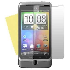 FLASH SUPERSTORE HTC DESIRE Z ( NOT HTC DESIRE ) SCREEN PROTECTOR 10-IN-1 PACK with MicroFibre cleaning cloth