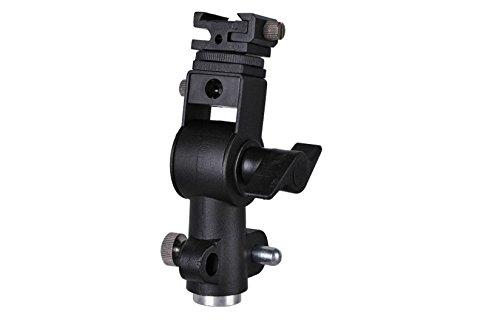 kaifang Typ D Professional Universal-Light Stand schwenkbar Blitzschuh Halterung mit Schirmhalter.