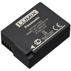 Panasonic Lumix DMW-BLC12E Batterie rechargeable, 7.2V, 1200mAh, 8.7Wh pour Lumix G90, G80, G7, GX8, FZ2000, FZ1000 II, FZ1000, FZ300 - Noir