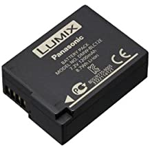 Panasonic DMW-BLC12E - Batería recargable, litio-Ion, 1200 mAh, 7.2 V, color negro