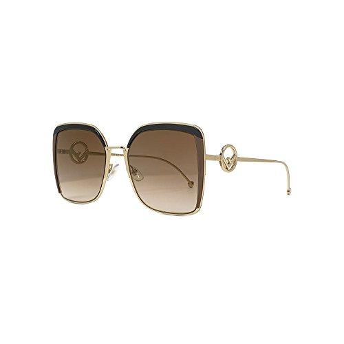 Sonnenbrillen Fendi F IS FENDI FF 0294/S BROWN/BROWN SHADED Damenbrillen