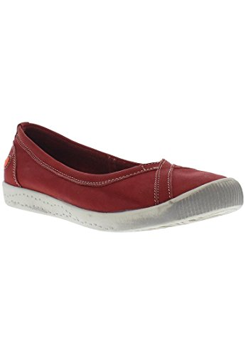 Softinos P900179, Ballerine Donna Red