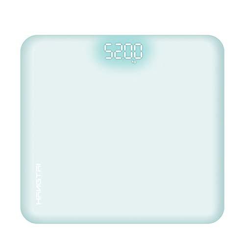 Waage Digitale Personenwaage Hochpräzise Waage Hide Screen Blue,White