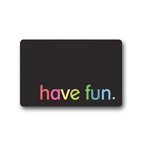 Have Fun Custom Doormats Welcome Floor Entrance Door Mats Non-Slip