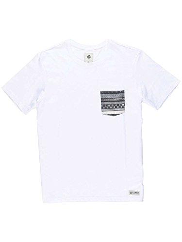 Element Pierce Crew T-Shirt Weiß