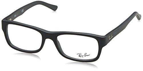 Ray-Ban Unisex-Erwachsene Brillengestell 0rx 5268 5582 50, Grau (Sand Grey)