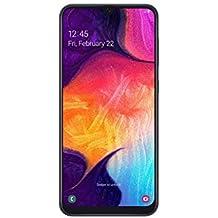 Samsung Galaxy A50 Smartphone (16.3cm (6.4 Zoll) 128GB interner Speicher, 4GB RAM, Black) - Deutsche Version