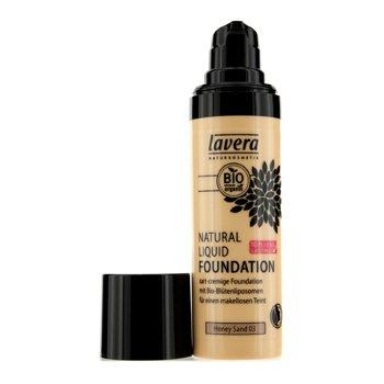 LAVERA Natural Liquid Foundation 03 honey sand 30 ml (Foundation Natural Liquid)
