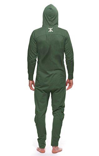 Onepiece Unisex Jumpsuit Air, Gr. 40 (Herstellergröße: L), Grün (Jungle Green) - 6