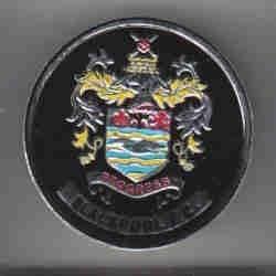 """Années 70Esso Film """"Blackpool Football Badge"""