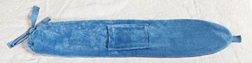 Kanguru 1119 George Borsa Lunga per Acqua Calda, Gomma, Azzurro, 72 x 12 cm