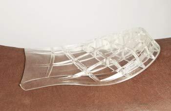 Kammer-gel (Pfiff 100760 Gel Sattelunterlage hinten, Unterpolster, Gel-Pad, anatomisch)