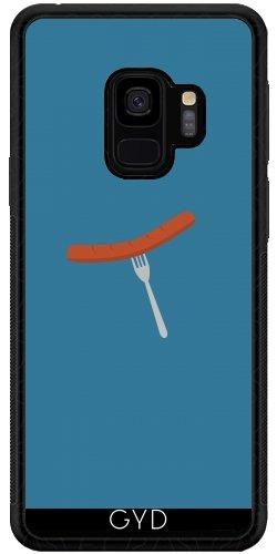 DesignedByIndependentArtists SilikonHülle für Samsung Galaxy S9 (SM-G960) - Grillwurst by Ilovecotton