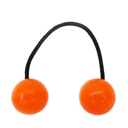 Preisvergleich Produktbild Coolster Finger Ball Luminous Night Speeder Daumen Knöchel Chucks Control Roll Spielzeug Anti Angst Stress Relief Spielzeug (Orange)