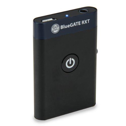 GOgroove BlueGATE RXT Kabelloser Bluetooth Musik-Receiver & Transmitter für HD Televisions von Sony , LG , Samsung , Sharp , Toshiba , Vizio , Panasonic und mehr Home Entertainment Systeme (Schwarz)