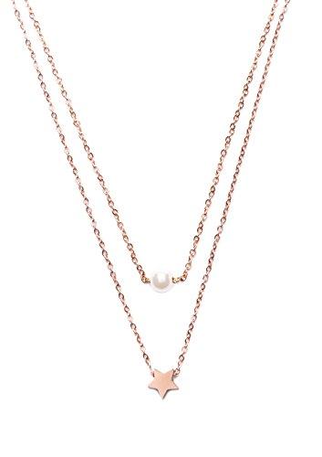 happiness-boutique-damas-collar-a-capas-con-colgante-en-oro-rosa-collar-delicado-con-charm-perla-y-e