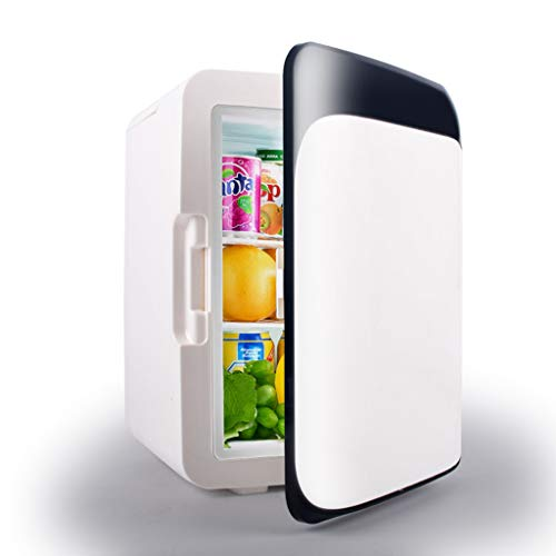 LRHYG 10L-Auto-Kühlschrank, Mini-Kühlschrank, Gefrierschrank kalt warm, 3 Farben (Color : A)
