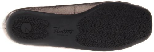 Trotters Sizzle Signature Synthétique Chaussure Plate Metallic Pewter
