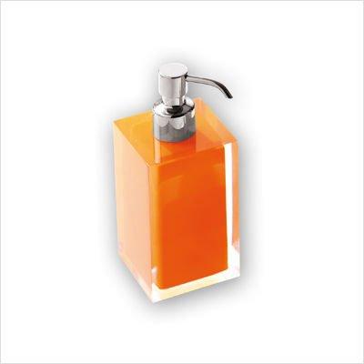 Rainbow - Dispensador de jabón líquido, color naranja