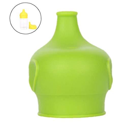 Angoter Dehnbare Elephant-Förmigen Silikon-Deckel Cup Abdeckung Dehnbare Leak Proof Straw Tumble Milk Cup Glasdeckel Für Kinder Kinder
