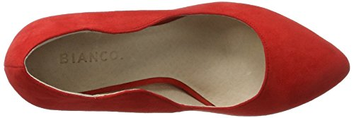Bianco Damen Wellen Pumps 24-48713 Rot (Red)