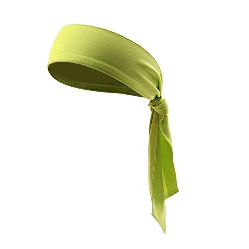 ITODA Schweißband Stirnband Sport Headband Bandana Unisex Elastisches Rutschfestes Kopfband Haarspange für Erwachsenen Jugendlichen Reiten Yoga Training Laufen...