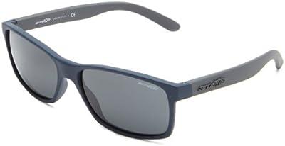Arnette Slickster, Gafas De Sol Unisex, Azul Marino Difuminado, 61