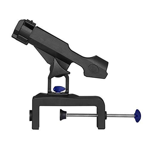 LYCOS3 Angelrutenhalter mit großer Klemm-Öffnung, 360 Grad, langlebig, verstellbare Angelrutenständer, zusammenklappbar, Gerät, Rutenhalter, Werkzeughalter für Angelboote