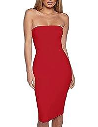 Vestidos De MujerRopa Roja Alta itFalda Amazon Cintura clFJT1K3u