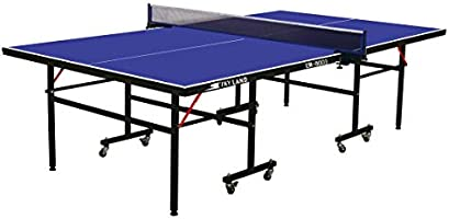 Skyland Em-8003 Single Folding Movable Tennis Table, Blue
