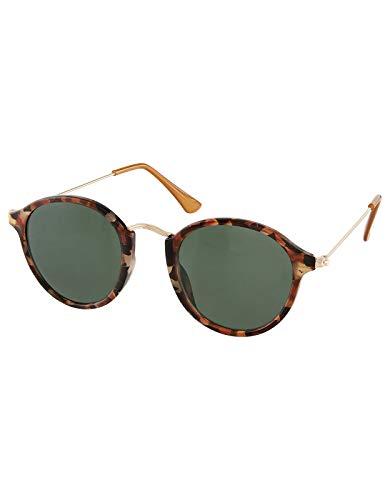 Accessorize Damen Ritchie gemusterte Preppy-Sonnenbrille Sonnenbrillen - Einheitsgröße