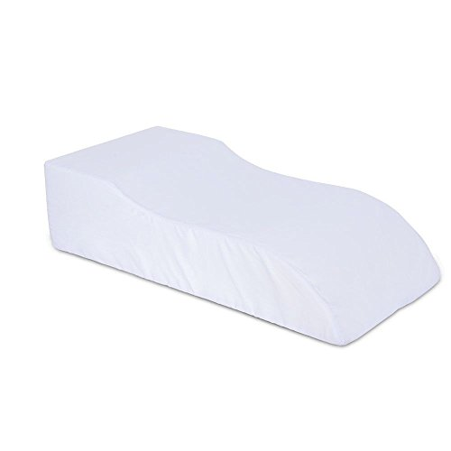 medical-leg-rest-elevated-leg-pillow-supportive-foam-foot-rest-cushion-bed-wedge-leg-raiser-with-whi