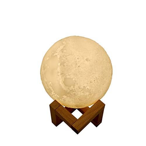Chendawei Humidificador de Aire Lunar, Silencio, Agua Interior, Ahorro de energía Creativo, Aire Limpio, Aerosol iónico, Fragancia incorporada, luz Nocturna, Recargable