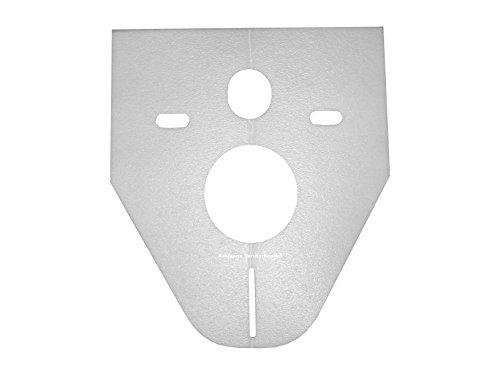 WC-Vorwandelement OLI 120 Komplettset Platte Slim weiß Wand WC SET WC-Sitz Absenkautomatik