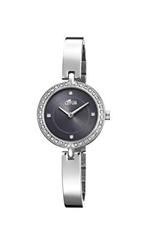 Lotus Watches Femme Analogique Classique Quartz Montre avec Bracelet en Acier Inoxydable 18547/2