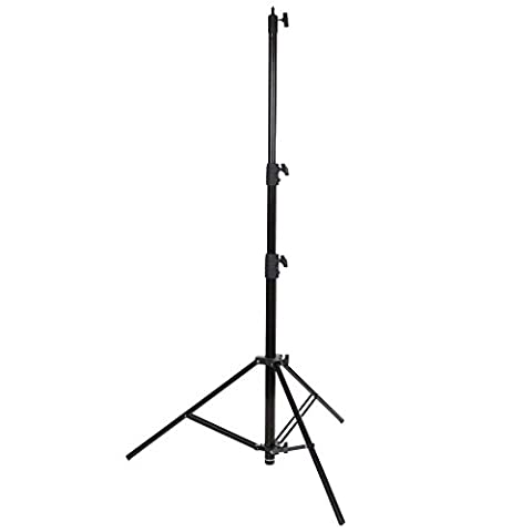 Walimex Pro Lampenstativ Air Deluxe (max. Höhe 290 cm, 3 luftgefederte Segmente, max. Belastbarkeit ca. 20kg)