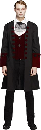 Herren Halloween Sexy Fantasie Vampire Kleid Herren Fever Gothik Vamp Kostüm - Herren, Multi, Medium
