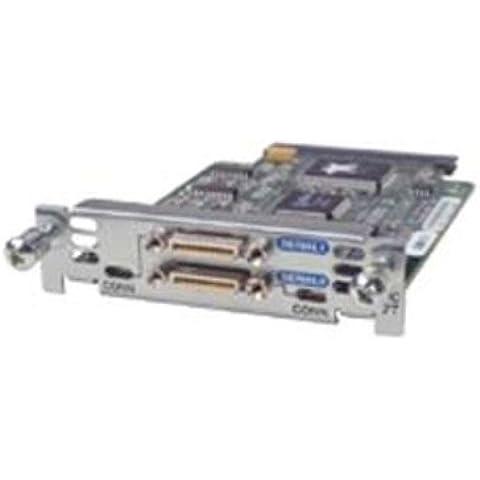 Cisco 2 Port Serial WAN Interface Card - Accesorio (De serie, De serie, RS-232, Frame Relay, PPP, DTE/DCE, Alámbrico, Cisco 1700, 2600, 3600 series)