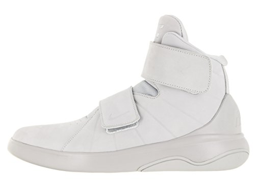 Nike Marxman Prm, Chaussures de Sport-Basketball Homme Argent - Plateado (Pr Platinum / Pr Pltnm-Pr Pltnm)