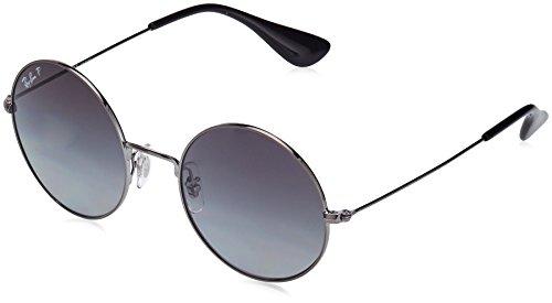 Ray-Ban RAYBAN Damen Sonnenbrille 3592 Gold/Lightgreygradbrownpolar, 55