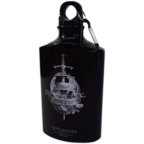 Factory Entertainment Outlander Fraser Clan Metal Water Flask/Bottle by Factory Entertainment