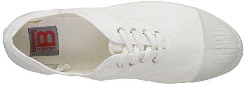 Bensimon Herren White Flach Tennis (bianco)
