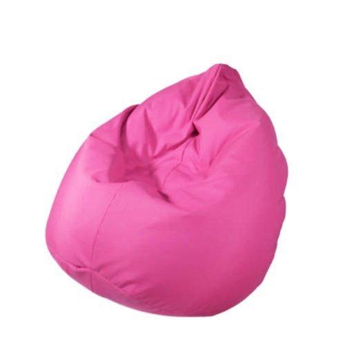 Outletissimo® poltrona sacco pouf pouff puff puf fucsia modello mega 90x135cm nuovo offerta