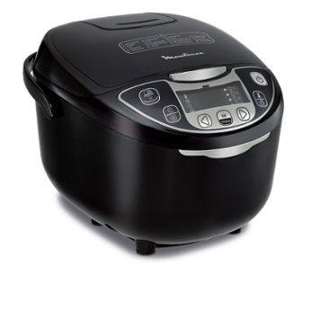 Moulinex 25 in 1 Smart Küchenmaschine MK708810, 750 Watt, 5 Liter, schwarz (Zertifiziert und...