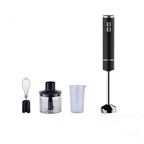 Stabmixer 400 Watt Leistungsstarke,6 Geschwindigkeit Undturbo Einstellung mit, Küchenroboter/Multifunktional 4-in-1 Hand Mixer Stick Lebensmittel,Chopper und Juicer Edelstahl Klingen Schneebesen
