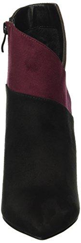 BUFFALO - B334e-43 S0002 Imi Suede, Stivali bassi con imbottitura leggera Donna Multicolore (Mehrfarbig (BLACK947))